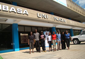 is located in the coastal city of Kenya in Uni Plaza - off Moi Avenue