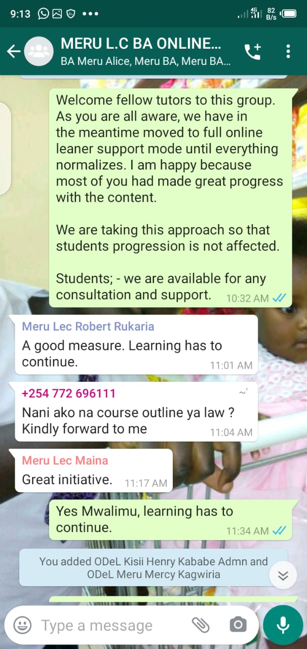 whatsapp group for a Masters Class